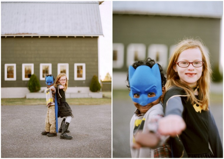 Super hero kids. Carmylee Photography